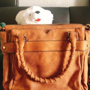 Violet Ray Brown Bag